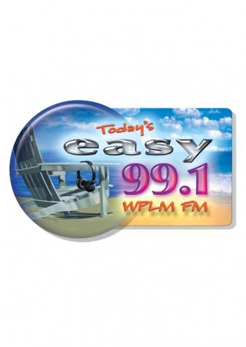 WPLM Easy 99.1 Logo