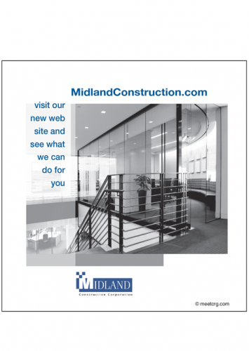 Midland Construction Trade Magazine Print Ad