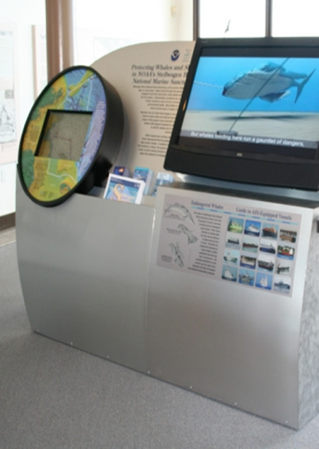 Ship Tracking Exhibit