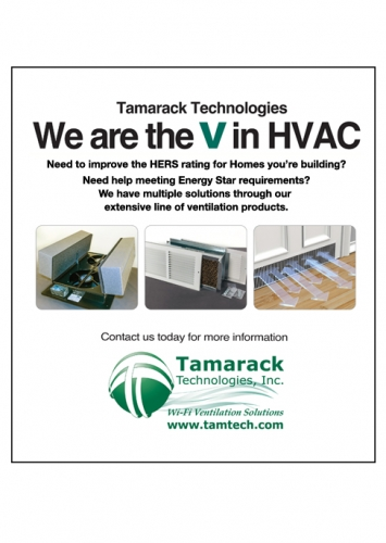 Tamarack HVAC Trade Magazine Ad