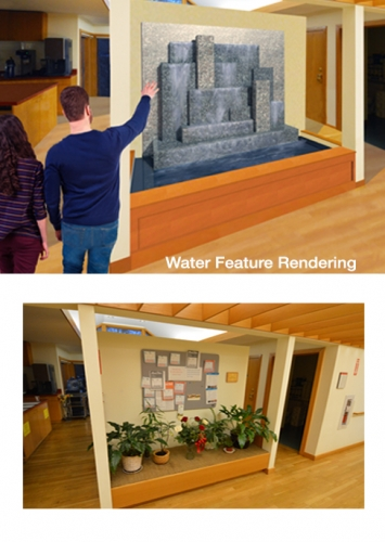 Architectural Graphics – Water Feature Rendering
